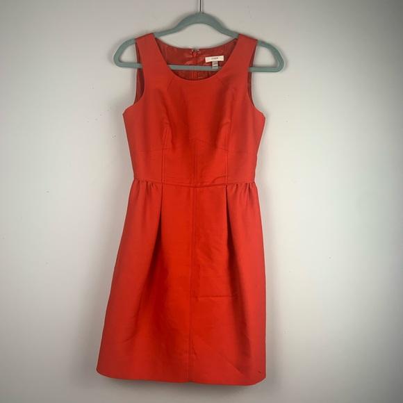 J Crew Coral Sz 2 dress